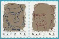 Sweden From 1999 Mint MiNr.2141-2142 - Nobel Peace Prize