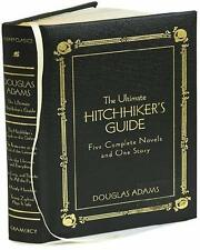 ULTIMATE HITCHHIKER'S GUIDE LEATHER Douglas Adams COMPLETE 6 BK TRILOGY HHG