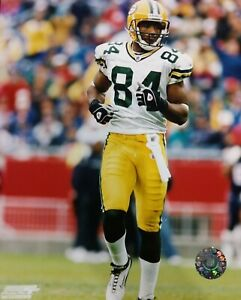 JAVON WALKER 2002 Green Bay Packers 8X10 ACTION PHOTO