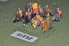 25 mm Medievale/inglese-Men at arms 8 Fichi CAVALLERIA-CAV (21838)