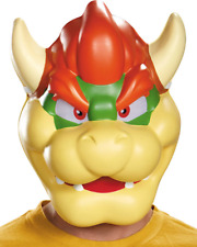 Disguise Nintendo Super Mario Bowser Mask Adult Halloween Costume 85235