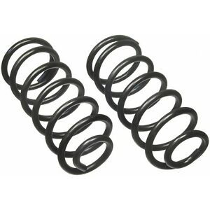 Rear Constant Rate 196 Coil Spring Set Moog For Mercury Ford Dodge Plymouth