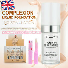 TLM Flawless Color Changing Foundation Makeup Base Face Liquid Cover Concealer *