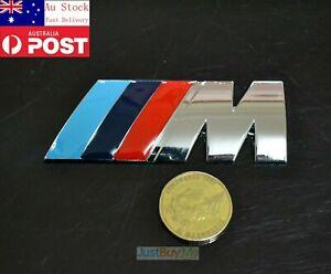 M Power Performance Car Metal Badge Emblem Sticker Decal for BMW 8cm