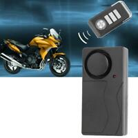 Wireless Vibration Alarm Anti-Theft Burglar Alarms for Bicycle Motorcycle Car