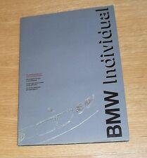BMW Individual Brochure 1992
