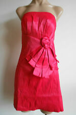 Size 10 Rose Pink Strapless Stretch Formal Party Club Dress NWOT