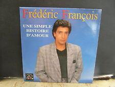 FREDERIC FRANCOIS Une simple histoire d'amour 410467