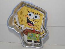 WILTON SPONGEBOB SQUARE PANTS CAKE PAN~NEW~BIRTHDAY CELEBRATE BAKING PAN