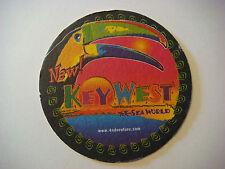 1996 Beer Collectible Coaster ~*~ KEY WEST At SEAWORLD ~ Orlando, FLORIDA Coupon
