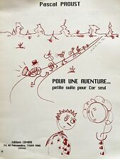 Pascal Proust - pour une aventure... - petite suite pour cor seul