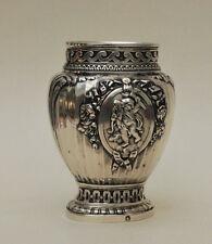 Henin et C° Vase argent massif  piédouche Henin et C° Hénin et Compagnie