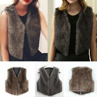 Veste à capuchon de mode pour femme Outwear Slim Long Vest Warm Rabbit Fur Coa