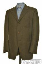 CANALI Proposta Brown Herringbone CASHMERE TWEED Blazer Sport Coat - 42 R