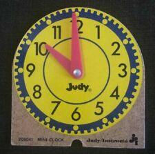 Judy/Instructo Mini Clock Wood 209041 Teaching Clock Small