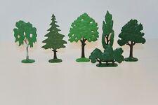L002//Lego 6 Bäume ca. H0 - Original aus den 60/70ger Jahren - SAMMLERALARM