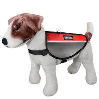 Service Dog Vest Pet Soft Harness With 2 Removable Reflective Velcro Patches USA