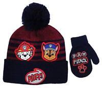 Paw Patrol Toddler Winter Hat and Mitten Set