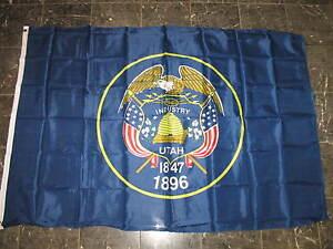 State of Utah Flag 4x6 Foot Flag Banner (150 Denier)