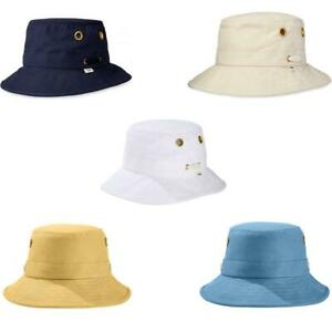 Tilley T1 Mens Ladies The Iconic T1 Hat Natural Blue Yellow White Unisex UPF 50