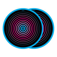 Glowtronics - Circles Non Glow Slipmat Multicolor