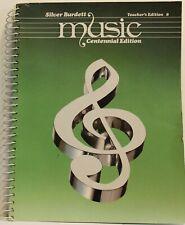 Silver Burdett Music Centennial Edition Teacher's Edition  8 USED
