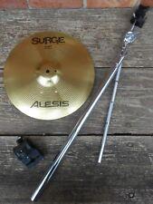 """Alesis Surge 13"""" Single Zone Crash gewürzt mit Choke Strip umfasst Befestigung H/W"""