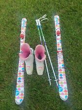 New listing Roxy Skis along with boots and polls
