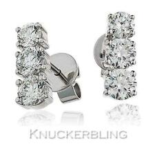 Drop/Dangle Natural White Gold Fine Diamond Earrings