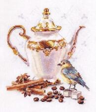 Counted Cross Stitch Kit ALISA 5-21 - Coffee Connoisseur