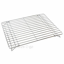 Chrome Oven Shelf Fits ZANUSSI Cooker Base Plate Warmer Rack Grill Stand