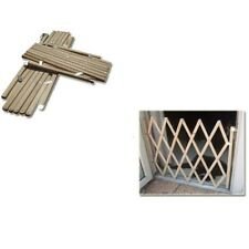 Baby Gate Safety Fence Child Protection Wood Door Dog Cat Pet Barrier US