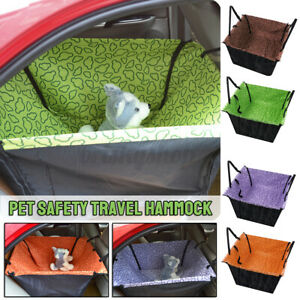 Waterproof Large Car Seat Carrier Cat Dog Pet Puppy Travel Cage Booster Belt