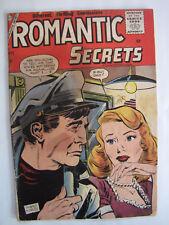 Romantic Secrets #10 (March 1957, Charlton) [VG- 3.5]