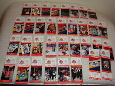 (34) Florida Panthers Hockey Original Ticket Stubs 1997-1998 Season 2 Unused