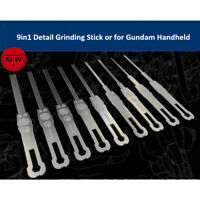 9in1 Detail Grinding Stick Model Building Tools for Gundam Handheld Decoration