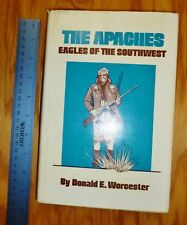 The Apaches: Eagles of the Southwest Am Indian Series SIGNED!  HC free USPS SHIP
