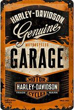 * Deko Schild Harley-Davidson Garage Werkstatt Vintage Poster Bike Werbung *1574