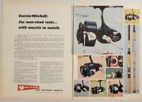 1970 Print Ad Garcia Mitchell Fishing Reel Models 488,402,406,498,486 Teaneck,NJ