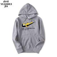 New Brand Sweatshirt Men's JUST DO IT Hoodies Men Hip Hop trasher Fashion Fleece
