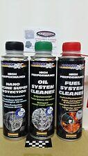 OILCLEANER pulizia motore+NANOPROTECTION additivo motore+Pulizia sistema BENZINA