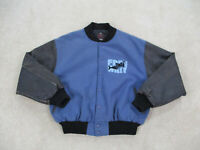 VINTAGE Free Willy Jacket Adult Extra Large Blue Black Movie Whale Mens 90s *