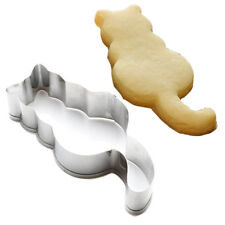 New Cat Cookie Cutter Stainless Steel DIY Cookie Cake Mold Biscuit Baking Tool