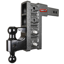 """GEN-Y Drop Hitch ClassV, 2.5"""" Shank 21K Towing 9"""" Drop, Ball and Pintle Included"""