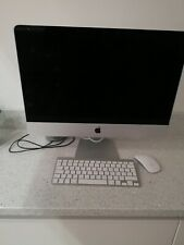 Apple Mac A1418 8gb ram 1tb hardrive with wireless keyboard and mouse ext screen