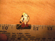 Wee Willie Cricket F. W, Mascot , W. Younger & Co ltd. beer Edinburgh Pin