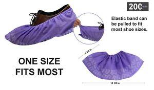 [200 PCS] 45g Disposable Boot&Shoe Covers [Slip Resistance] Water Resistance