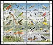 Malawi 598 Birds Mint NH