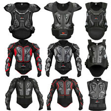 Motocross Body Armour Protective Bionic Jacket Vest Torso Back Chest  Guards