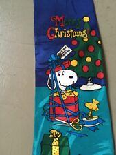 Peanuts Snoopy Woodstock Corbata De Navidad